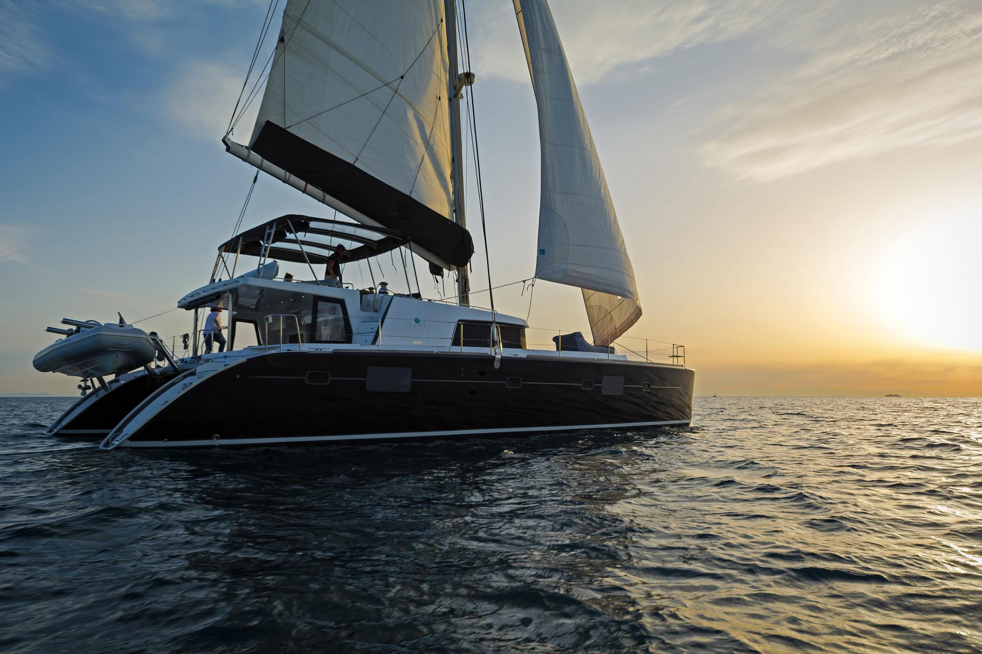 S/Y Lagoon 500 Fly, Luxury Crewed Catamaran