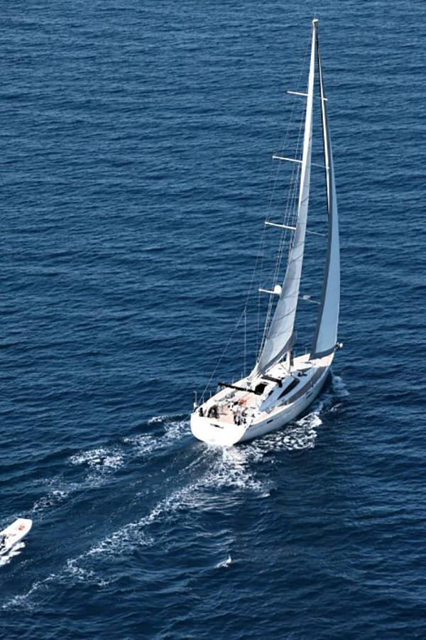 Luxury Crewed Sailing Yacht, Gianetti 64