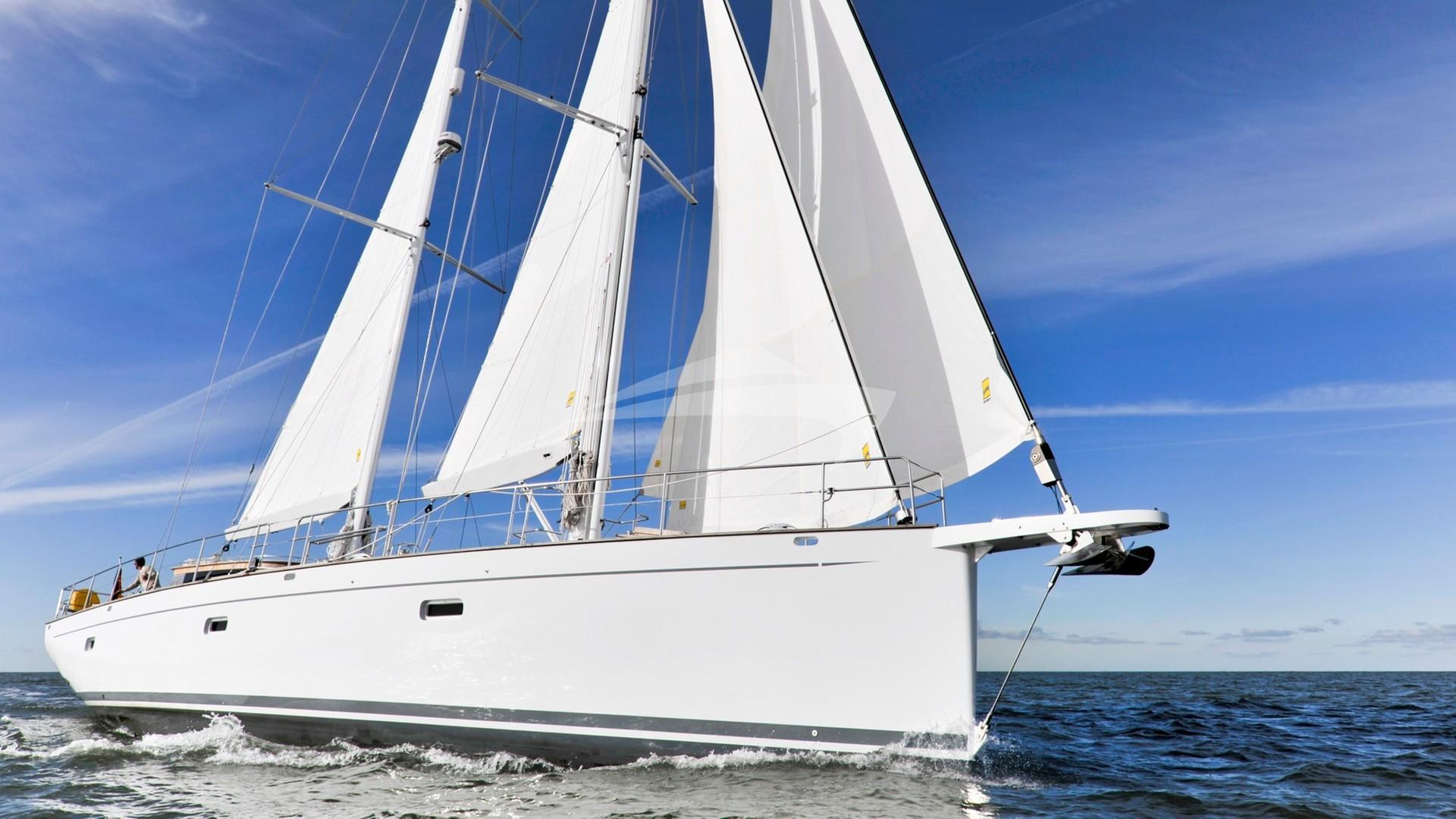 Luxury Crewed Sailing Yacht, Yachtbau Brune Opus 68