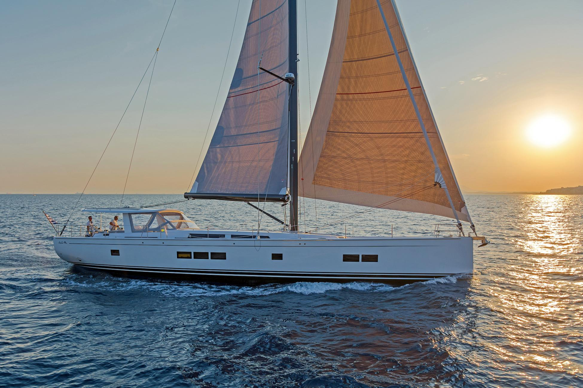 Luxury Sailing Yacht, Hanse 675