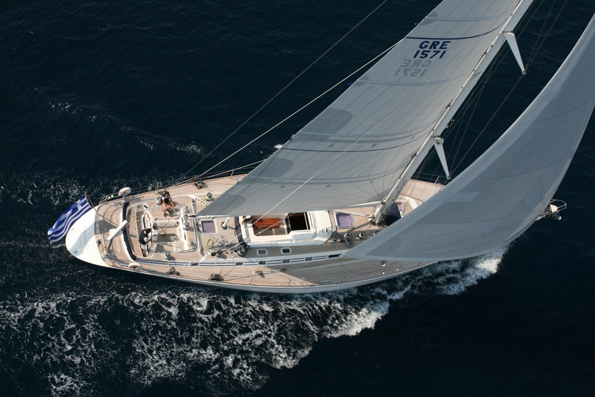 Luxury Crewed Sailing Yacht, Nautor's Swan 80
