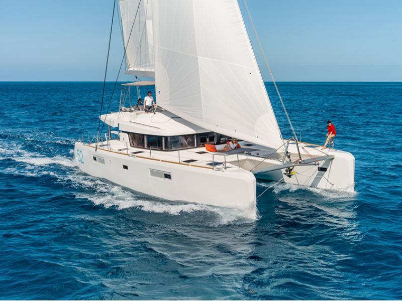 S/Y Lagoon 520  Fly, Luxury Crewed Catamaran