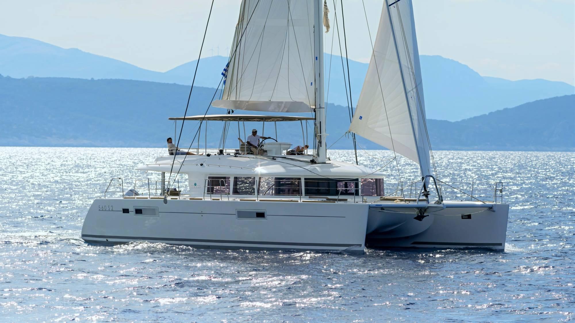 S/Y lagoon 560 S2 Fly, Luxury  Crewed Catamaran