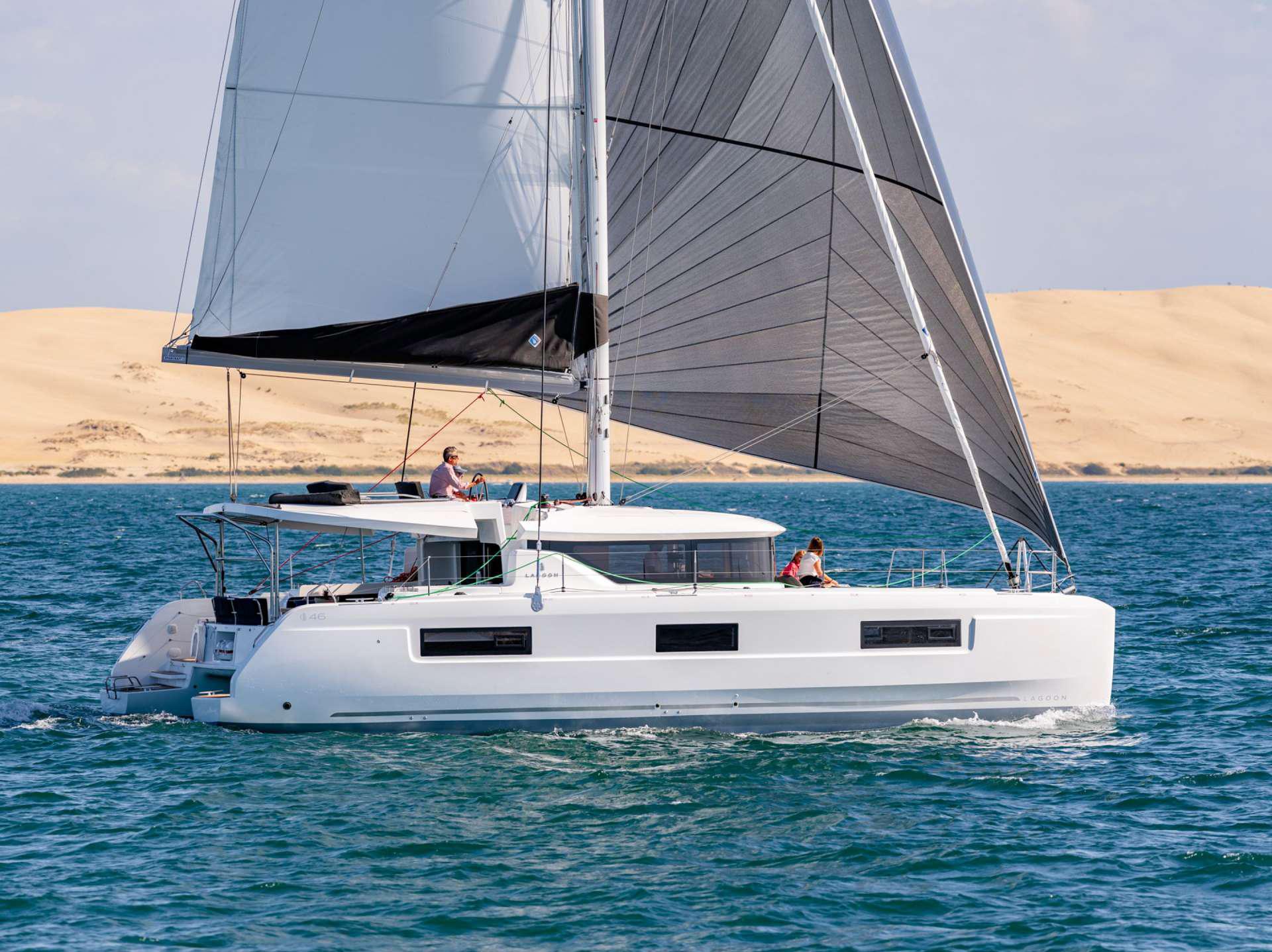 S/Y Lagoon 460, Luxury Crewed Catamaran