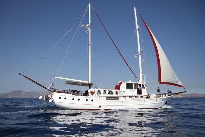 Traditional Motor Sailer 79 Feet
