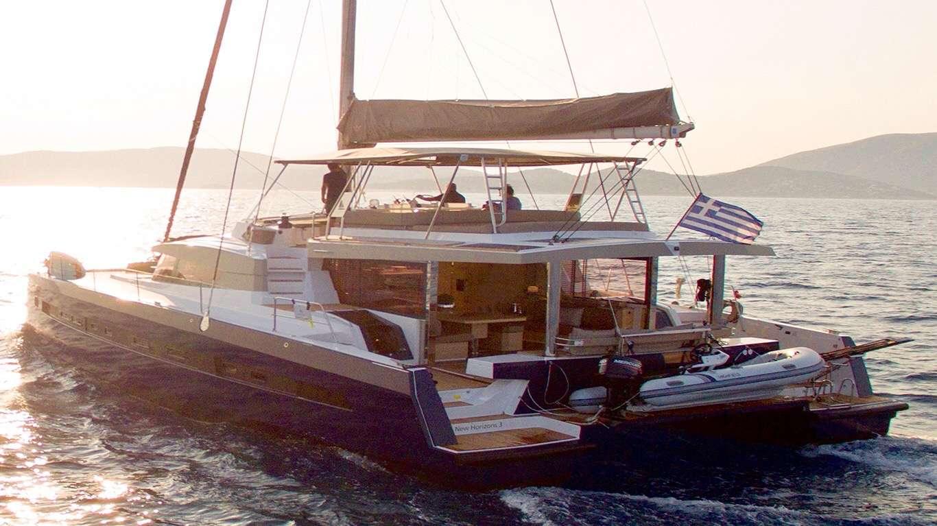 S/Y Bali 5.4 Fly, Luxury Crewed Catamaran