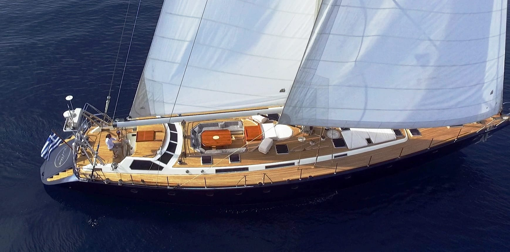 Luxury Crewed Sailing Yacht, Brook Marine 95