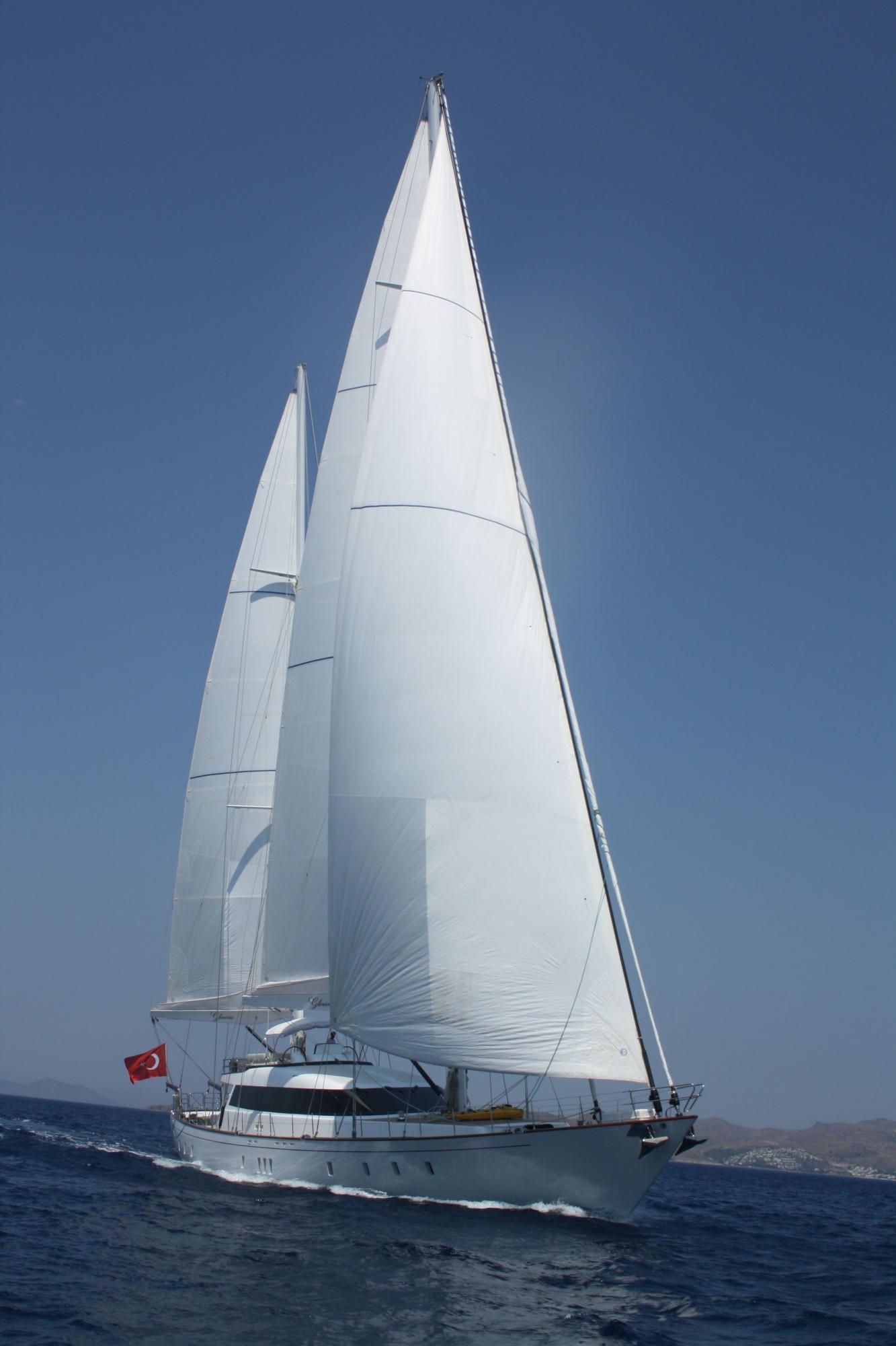 Luxury Motor Sailing Yacht (Ketch) 118 Feet