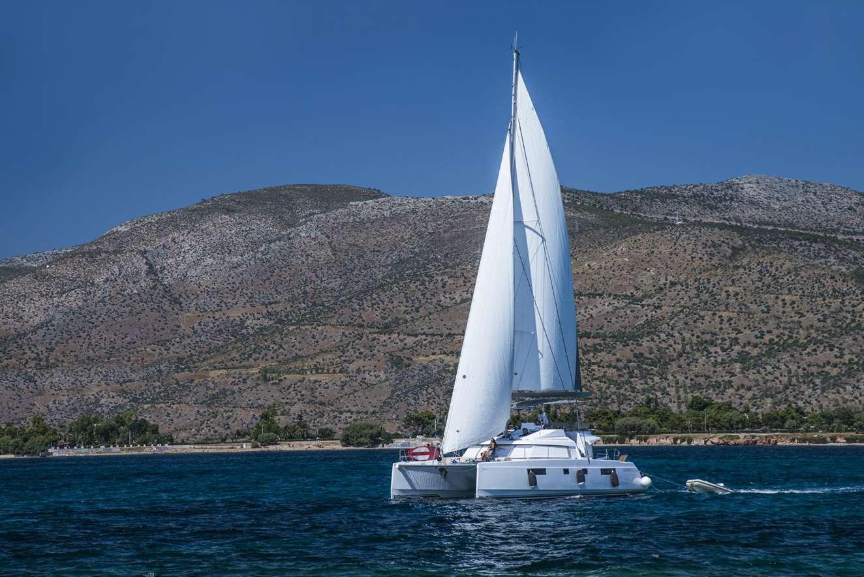 S/Y Nautitech 45 Fly, Luxury Crewed Catamaran