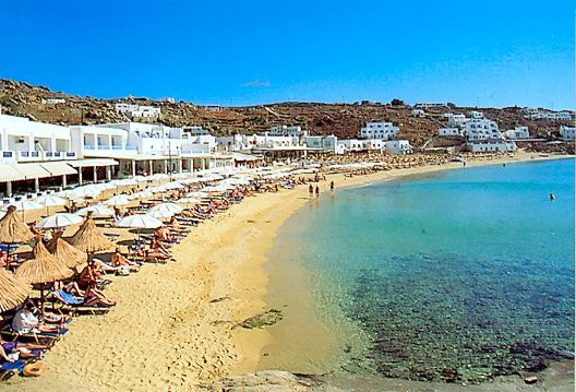 Διεύθυνση Greece Platis Gialos Beach