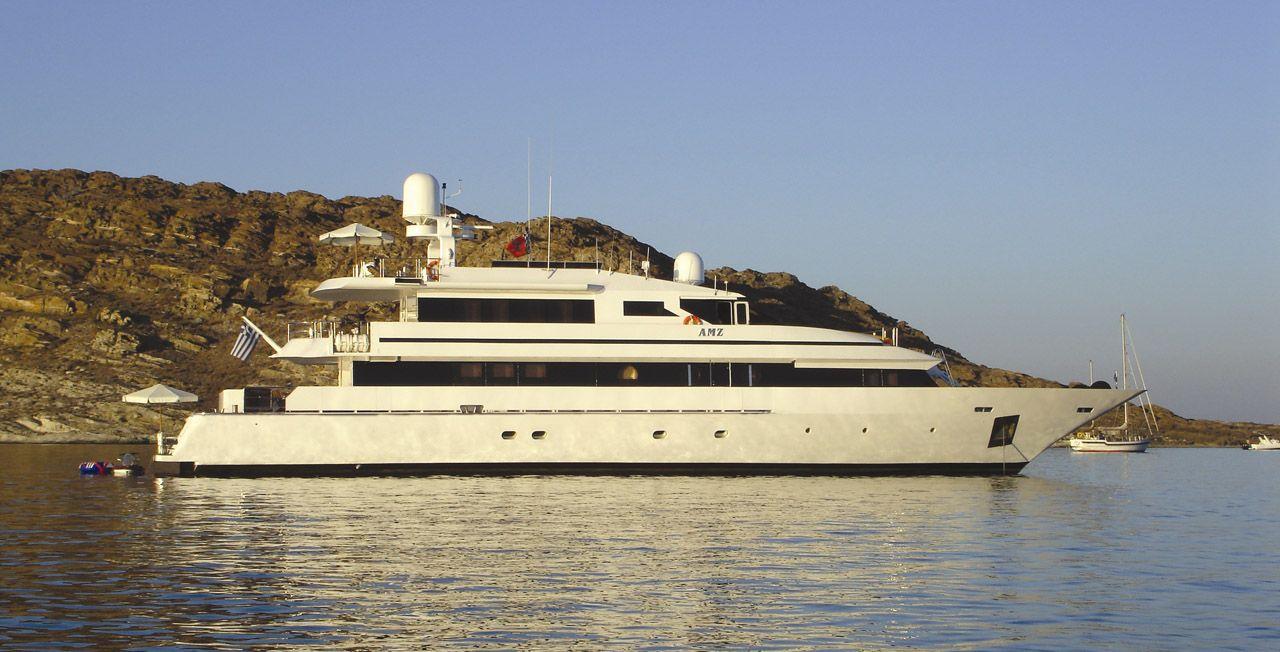 Mega Yacht  Marinteknik Verkstads AB 137 Feet