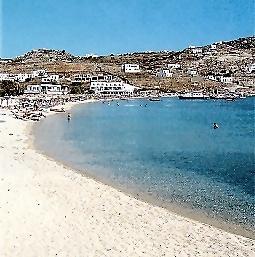 Ornos Beach In Mykonos All4yachting