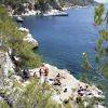 ΜΑΡΙΖΑ ή ΠΟΥΛΑΚΙ (ΛΙΜΕΝΑΡΙΑ) παραλία & αγκυροβόλιο στο ΑΓΚΙΣΤΡΙ