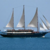 Mega Sailing Yacht - Cruise Ship 157 Feet